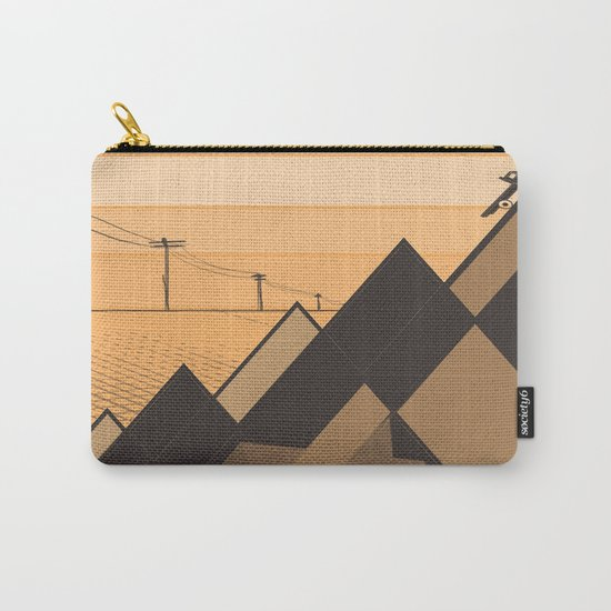 Little mountains and a car  Carry-All Pouch