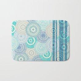 Circles / Stripes Bath Mat