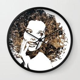 Provocative Face Wall Clock