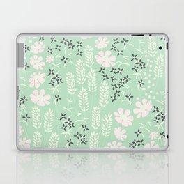 Floral Mint Pattern 013 Laptop & iPad Skin