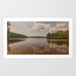 Lake Price - NC Art Print