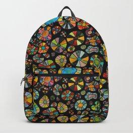 Barca Dots Pattern multicolor/black Backpack