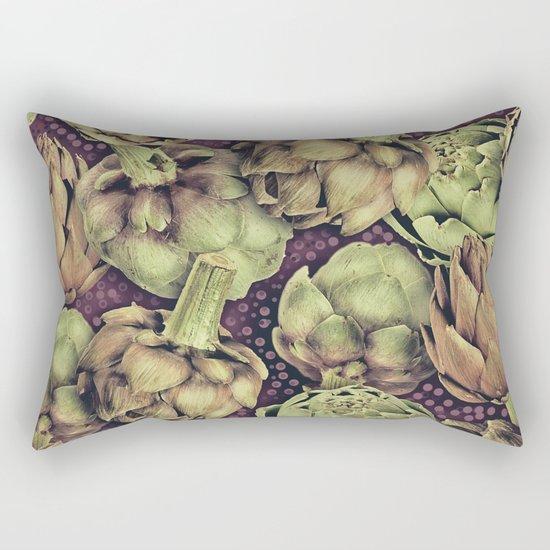 Artichokes Rectangular Pillow
