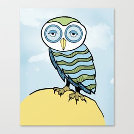 AL the Owl Canvas Print
