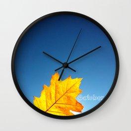 oktober Wall Clock