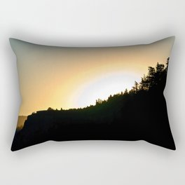 Crown Point Sunrise Rectangular Pillow