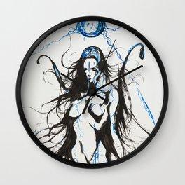 Electron Blue Wall Clock