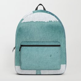 Blue Vibrance Abstract Painting Backpack