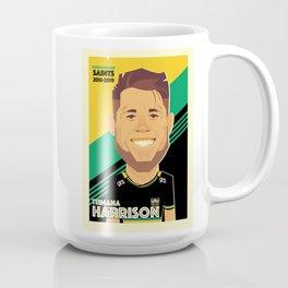 Teimana Harrison - Northampton Saints Coffee Mug
