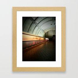 DC Metro Framed Art Print