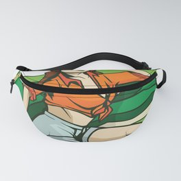 Pinup Girl with Flag Fanny Pack