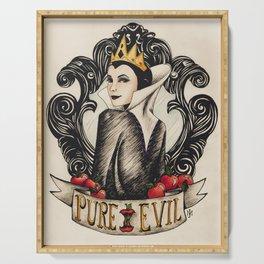 Evil Queen Serving Tray