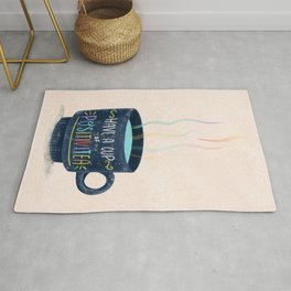 Have a Cup of Positivitea Rug