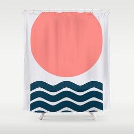 Geometric Form No.9 Shower Curtain
