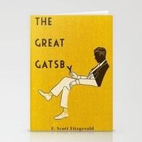 the great gatsby Stationery Cards featuring The Great Gatsby by MW. [by Mathius Wilder]