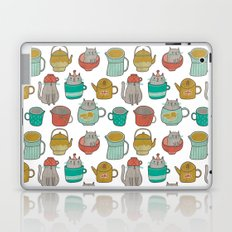Pattern Project #5 / Cats and Pots Laptop & iPad Skin