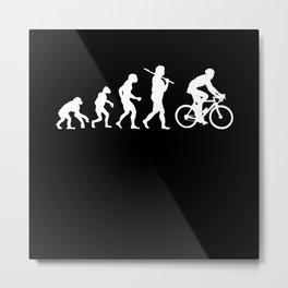 Evolution Bike Metal Print