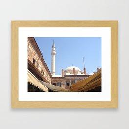Mosque in Izmir, Turkey Framed Art Print