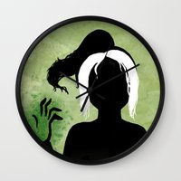 rogue Wall Clocks featuring Rogue by Sprite
