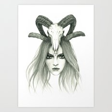 Zodiac - Aries Art Print