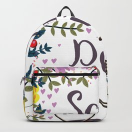Save the Date Vintage bicycle Backpack