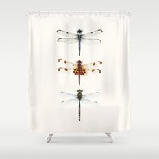 Dragonfly Collector Shower Curtain