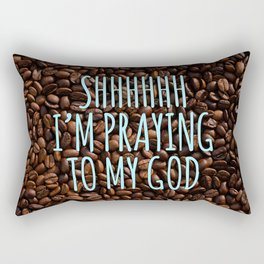 Thou Shalt Drink No Other Gods Before Me Rectangular Pillow
