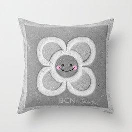 BCN Flower Throw Pillow