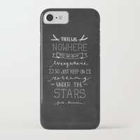 kerouac iPhone & iPod Cases featuring On The Road - Jack Kerouac by Samantha Lynch