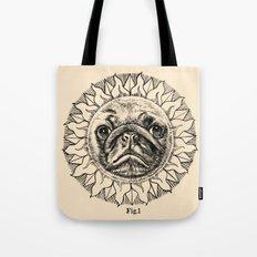 Astronomy Pug Tote Bag