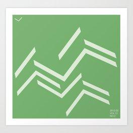 ballo verde Art Print