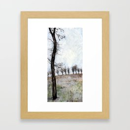 Tree in Fall Framed Art Print