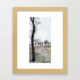 Tree in Fall Framed Art Print