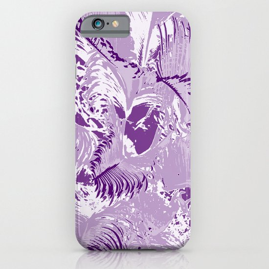 The mask - purple iPhone & iPod Case