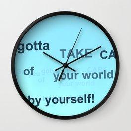 Fly: You Gotta Wall Clock