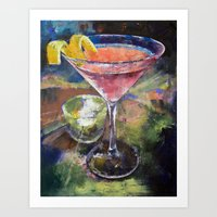 martini Art Prints featuring Martini by Michael Creese