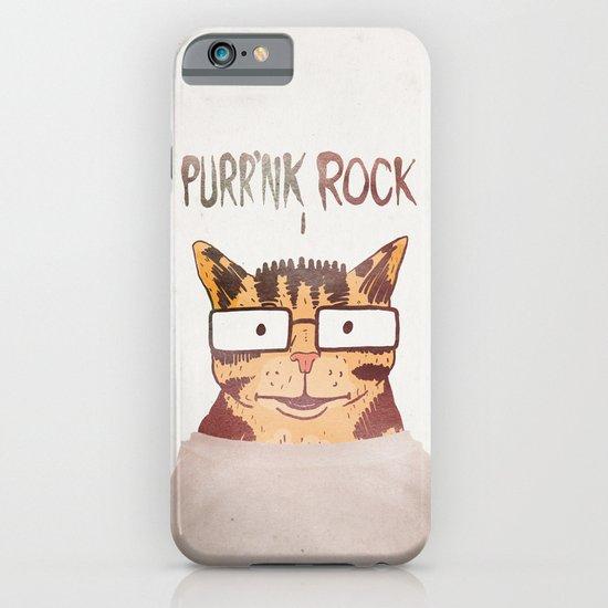 PURR'NK ROCK iPhone & iPod Case