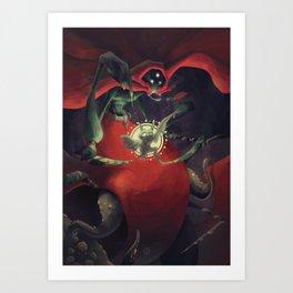 The Dreamteller of Nightmares Art Print