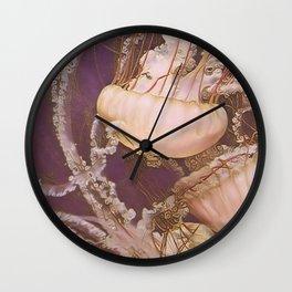 Jellies III Wall Clock