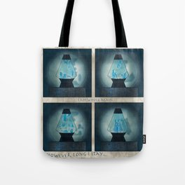 A Moment in Time (Blue) Tote Bag