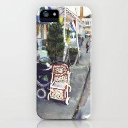 Jamestown waterfront, Fall 1997 iPhone Case