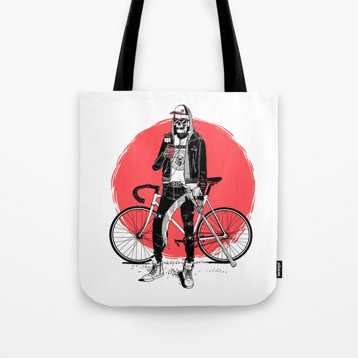 Cool Death Tote Bag
