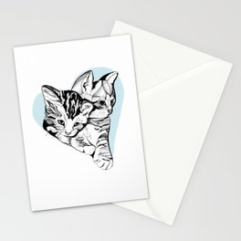 Kitten Love Stationery Cards