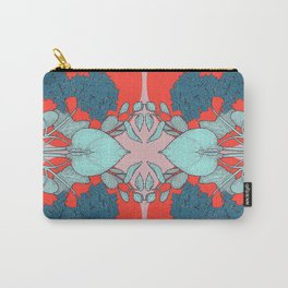 HYDRANGEA red Carry-All Pouch