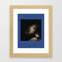 Universe View Framed Art Print