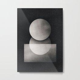 Dual planet Metal Print