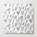 Floral White Pattern by aljahorvat