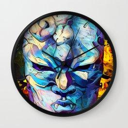 stone mask Wall Clock