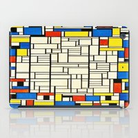 mondrian iPad Cases featuring Mondrian by PureVintageLove