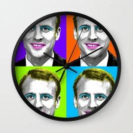 Marilyn Macron x 4 Wall Clock